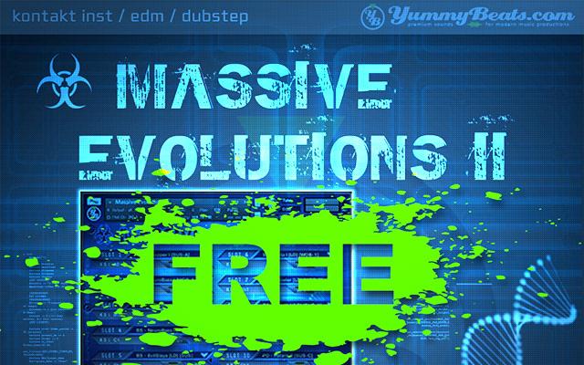 Free EDM & Dusbtep Synths for Kontakt, Massive Presets, Free