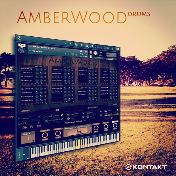 [AmberWood Drums #AWD]