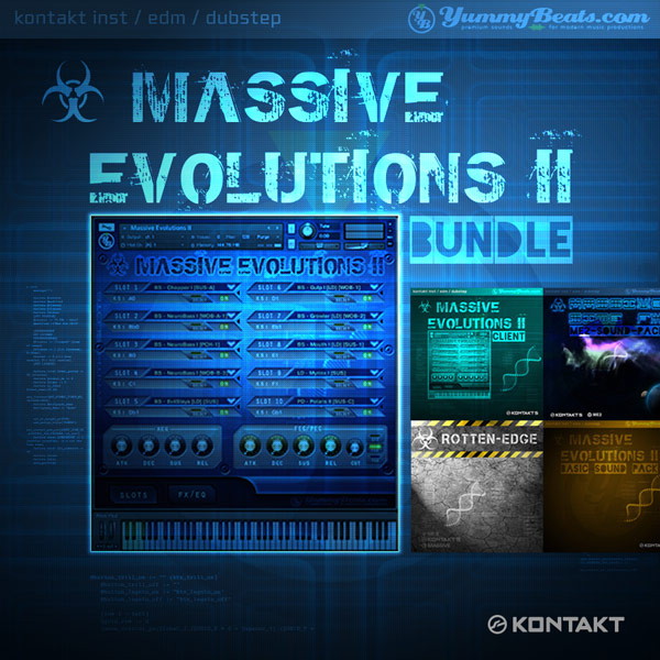 [☣ Massive Evolutions 2 - Bundle]