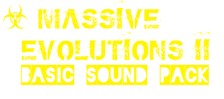 ☣ Basic Sound Pack #ME2